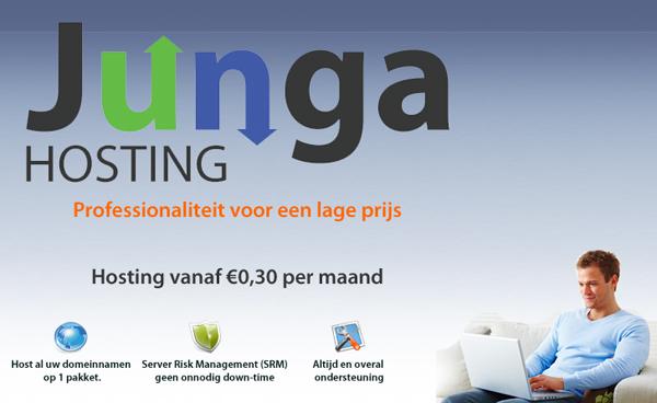 Junga Hosting - Goedkope hosting